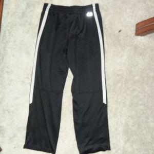 Men's Black Nylon Starter Pants Size 32-34